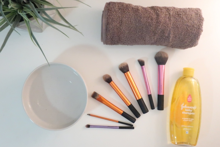 How To: Wash Your Makeup Brushes