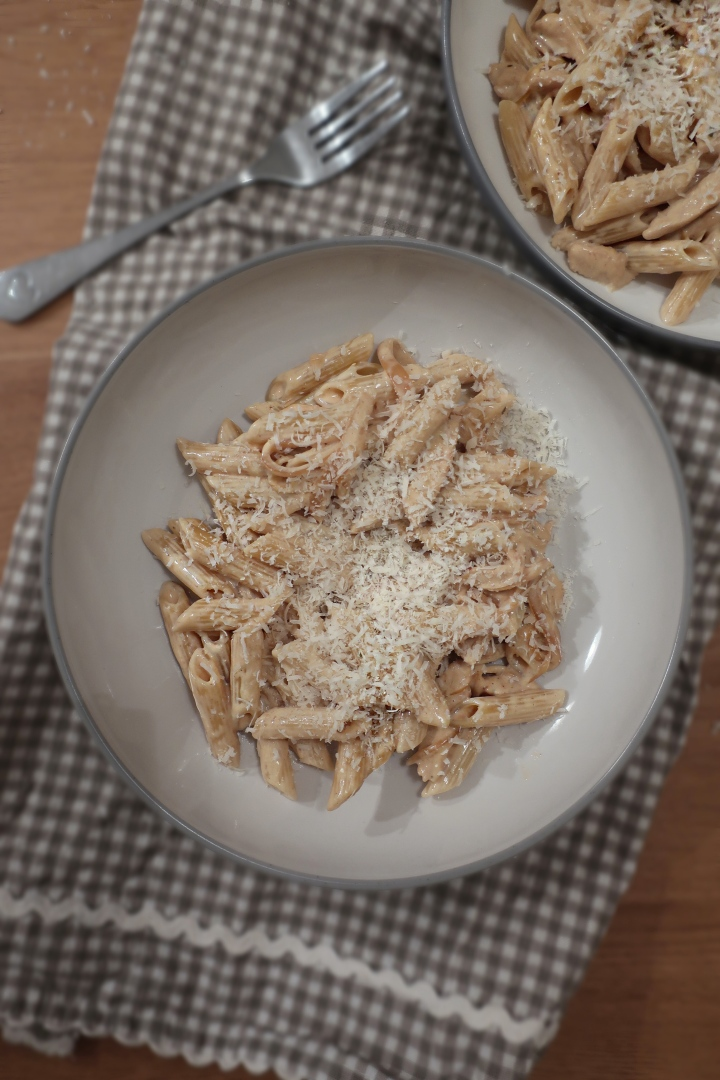 Creamy White Wine Chicken Pasta